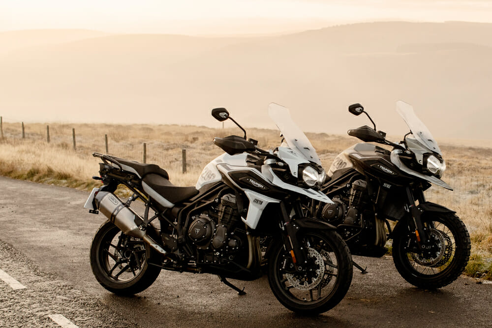 2020 Triumph Tiger 1200 Desert and Tiger 1200 Alpine
