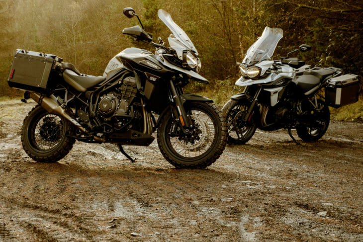 2020 Triumph Tiger 1200 Desert and Tiger 1200 Alpine