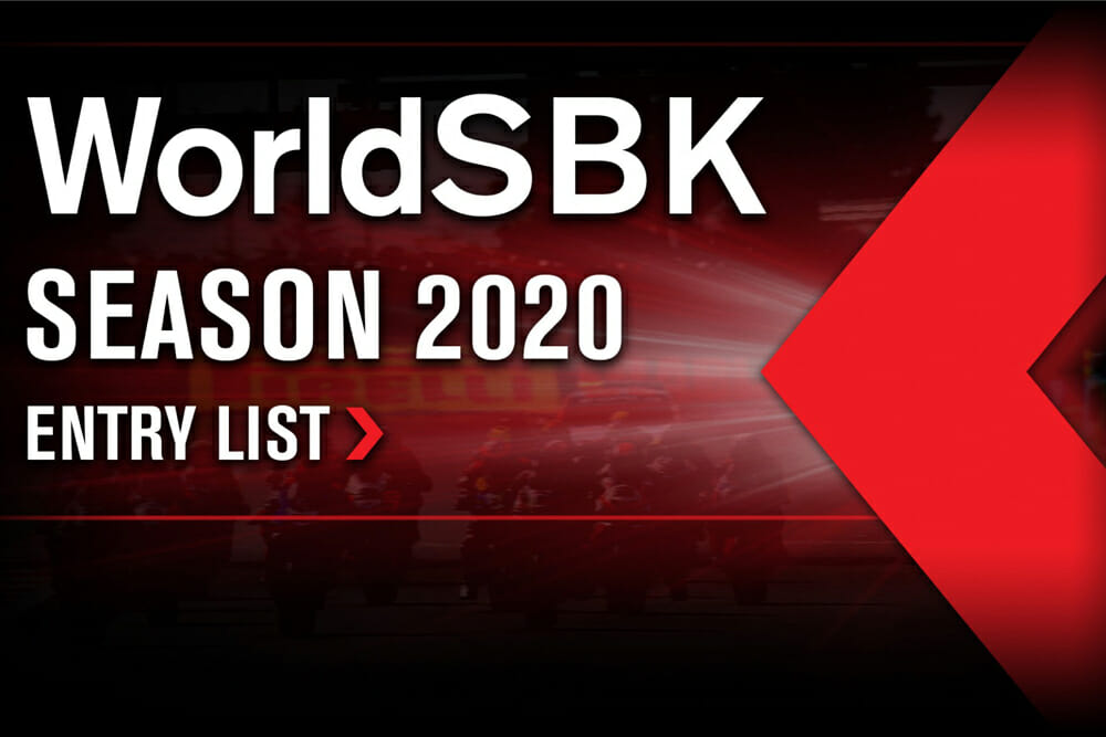 2020 WorldSBK Grid Announced