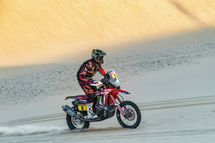 2020 Dakar Rally Motorcycle Results Stage 10 Brabec