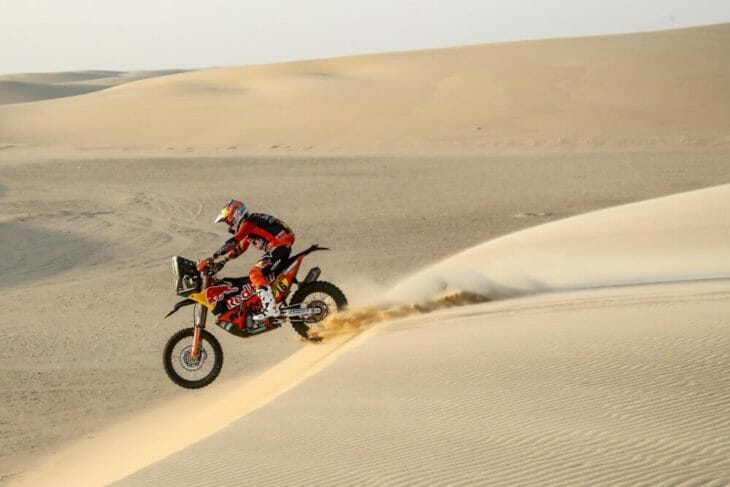 2020 Dakar Rally Motorcycle Results Stage 11 Benavides