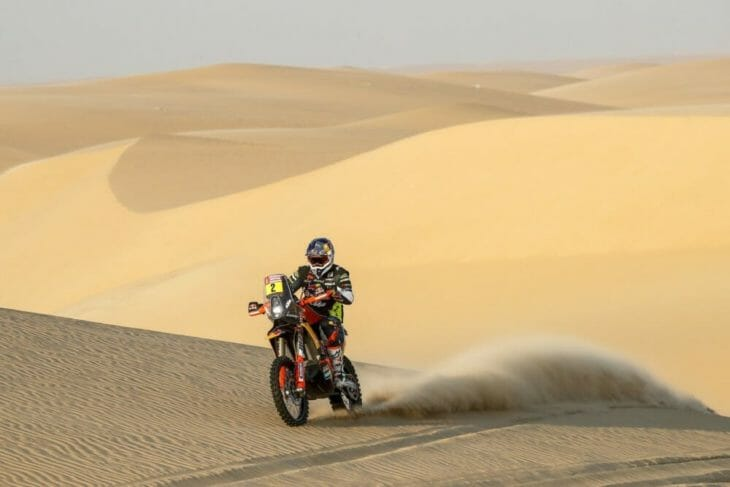 2020 Dakar Rally Motorcycle Results Stage 11 Walkner