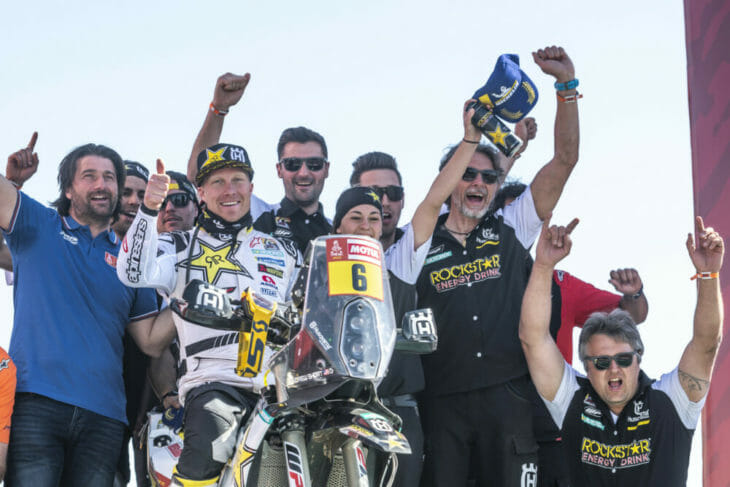 2020 Dakar Rally Motorcycle Results Stage 12 Short