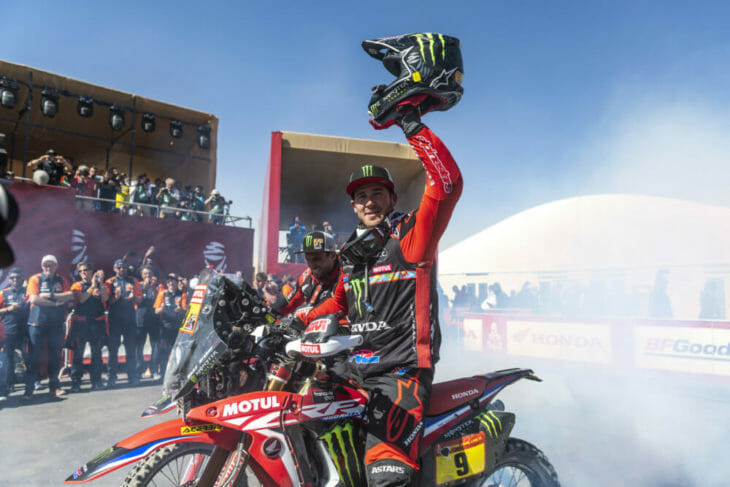 2020 Dakar Rally Motorcycle Results Stage 12 Brabec