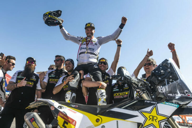 2020 Dakar Rally Motorcycle Results Stage 12 Quintanilla