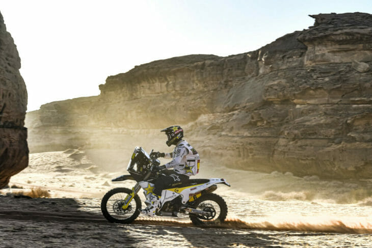 Dakar Rally Motorcycle Results Stage Five Andrew Short
