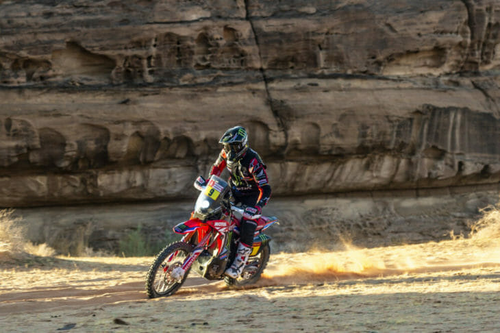Dakar Rally Motorcycle Results Stage Five Ricky Brabec