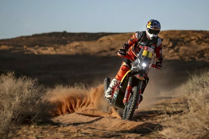 Dakar Rally Motorcycle Results Stage Five Toby Price