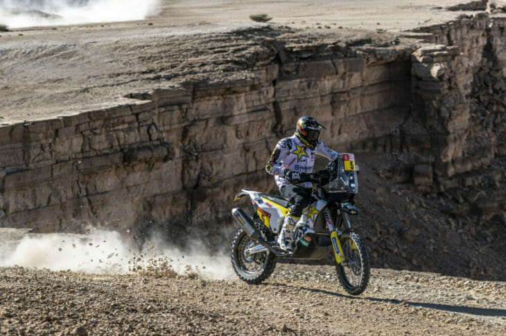 2020 Dakar Rally Motorcycle Results Stage Nine Quintanilla