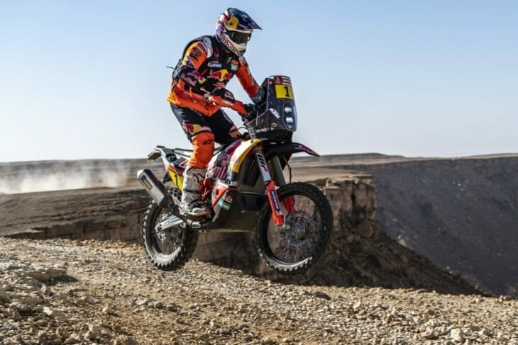 2020 Dakar Rally Motorcycle Results Stage Nine Price