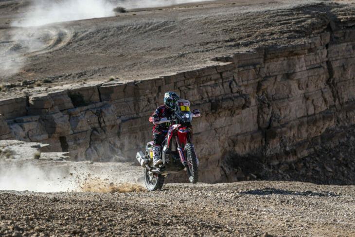 2020 Dakar Rally Motorcycle Results Stage Nine Brabec