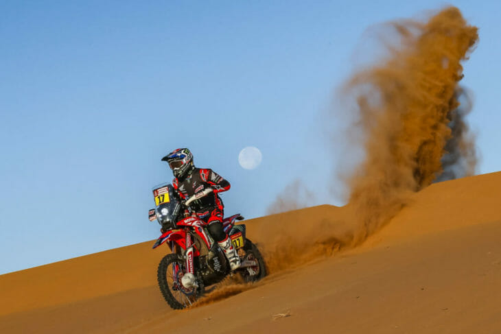 2020 Dakar Rally Motorcycle Results Stage Seven Benavides