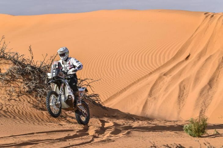2020 dakar rally motorcycle results stage six Howes