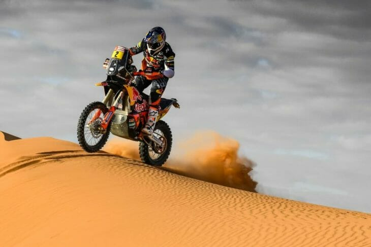 2020 dakar rally motorcycle results stage six walkner