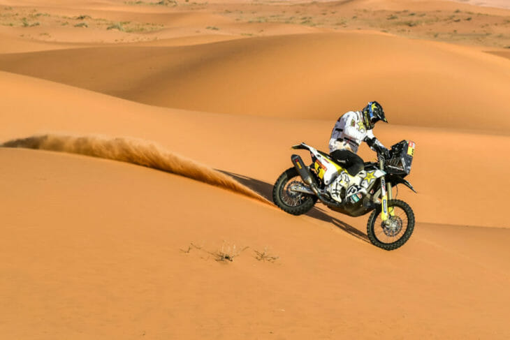 2020 dakar rally motorcycle results stage six quintanilla