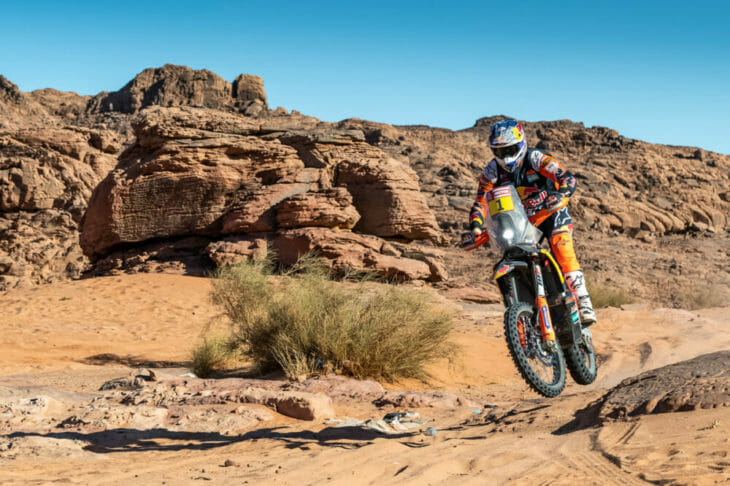 2020 Dakar Rally Motorcycle Results Toby Price stage Three