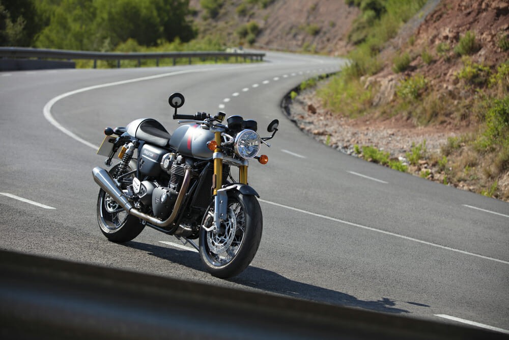 The Triumph Thruxton RS goes harder than anything this cool has any right to.
