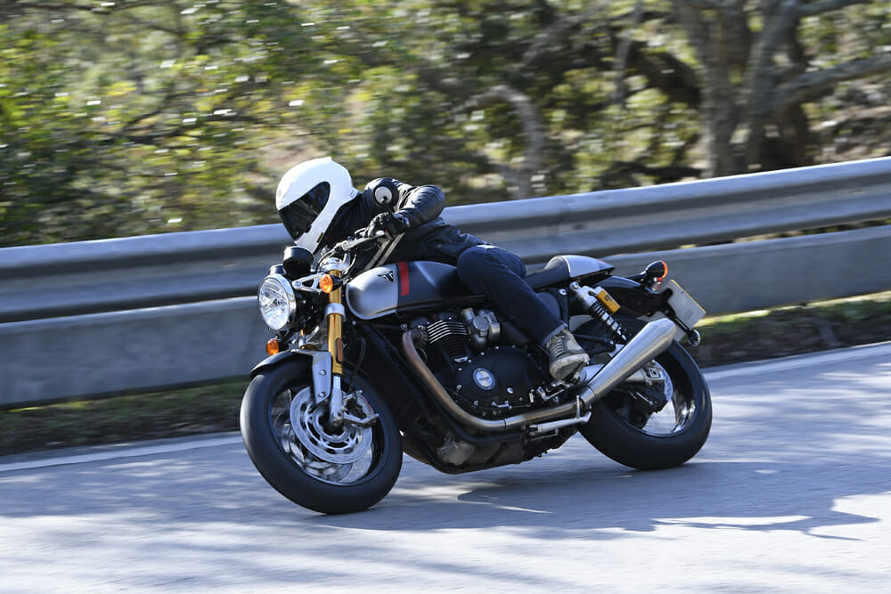 Chris Northover on the Thruxton RS for the 2020 Triumph Thruxton RS Review.