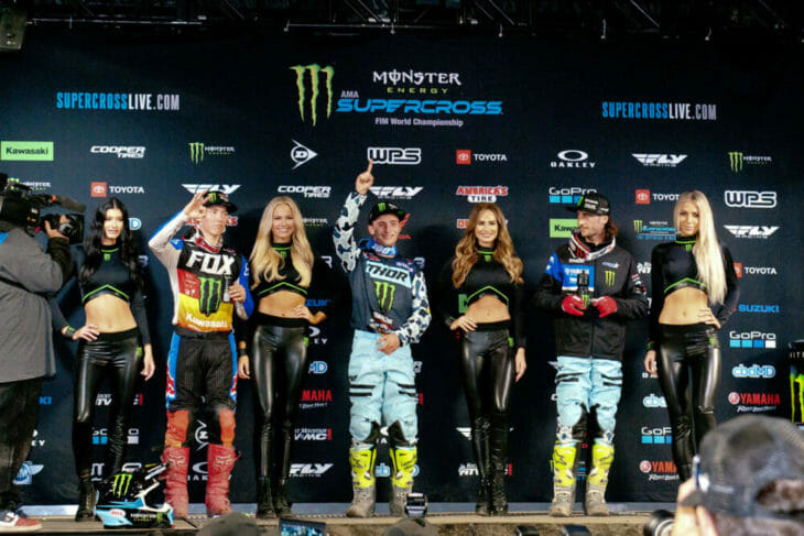 2020 Anaheim 1 Supercross Results