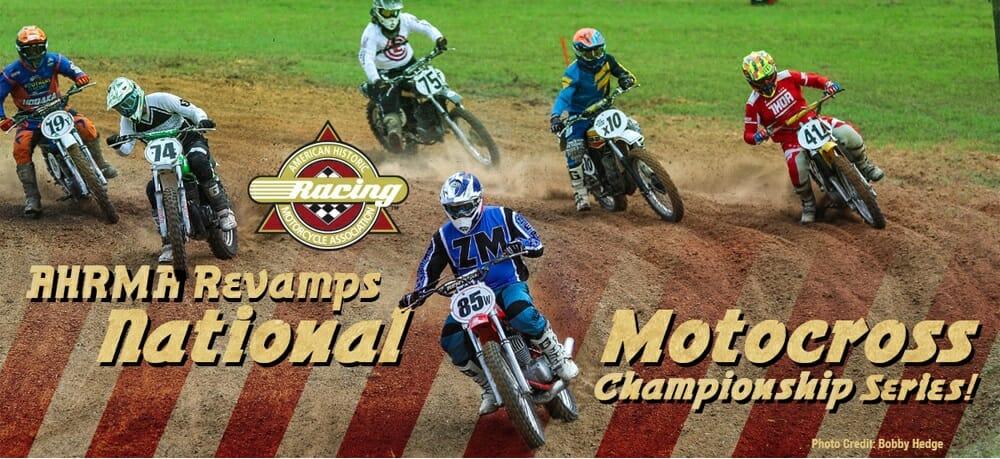 AHRMA revamps National Motocross Championship Series