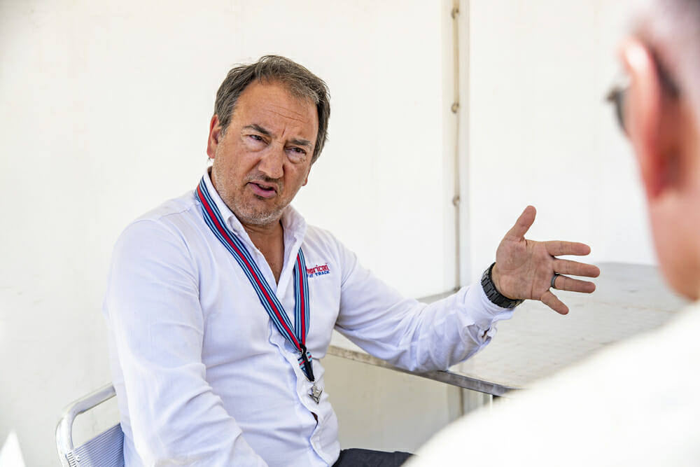 American Flat Track CEO Michael Lock is the man in charge of the growth of American Flat Track.