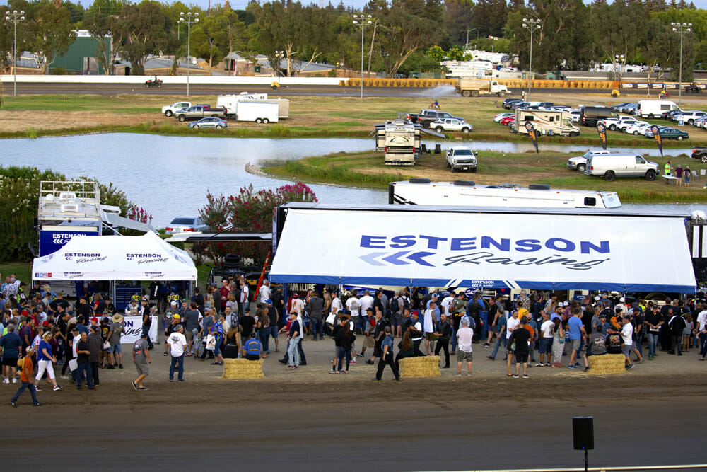 Yamaha now has a factory team in American Flat Track run by the Estenson Racing.