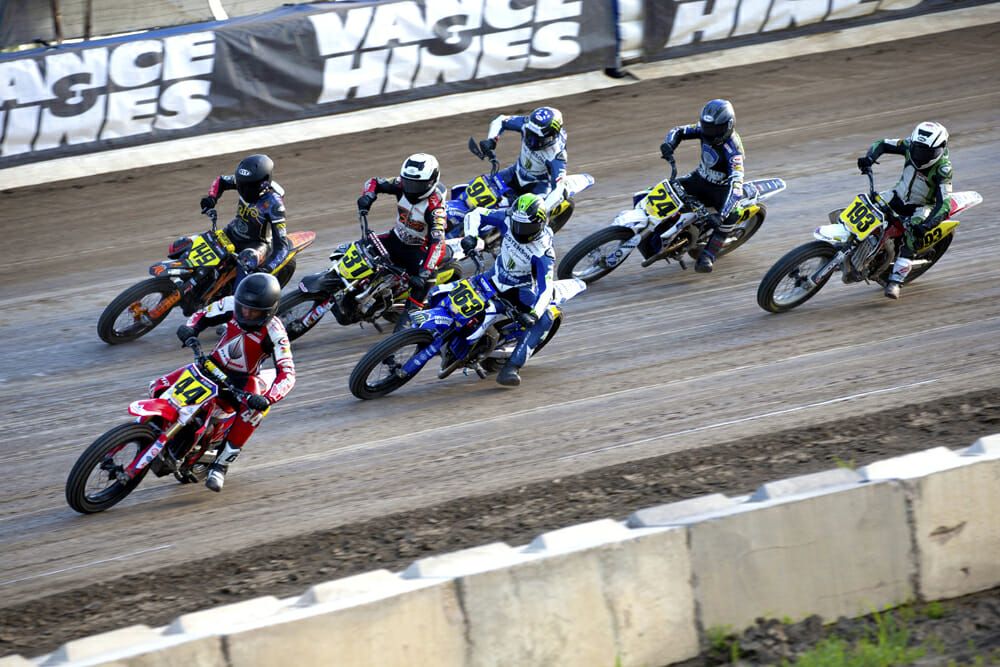 American Flat Track CEO Michael Lock strongly believes that the Singles class is the future of the sport.