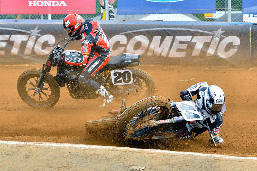 Michael Lock sees rider safety as a priority in 2020 for American Flat Track.