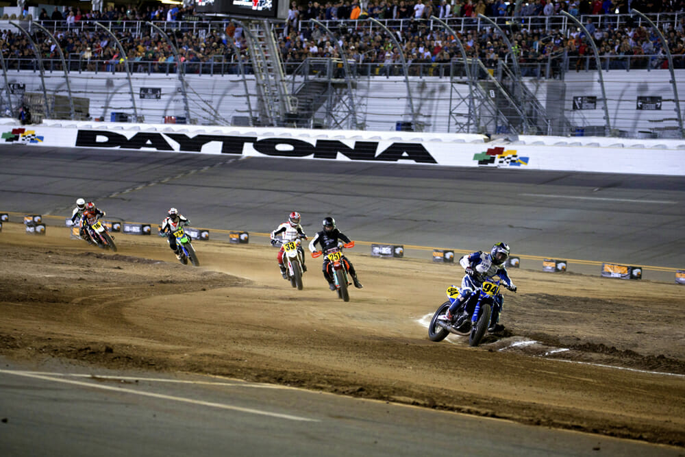 American Flat Track CEO Michael Lock wants to see more young racers coming up through the ranks such as Dalton Gauthier did.