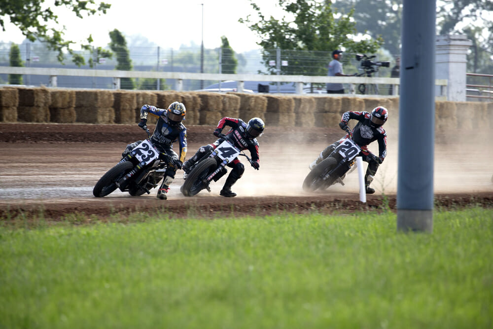American Flat Track CEO Michael Lock is looking into a tiered system for major series sponsors.