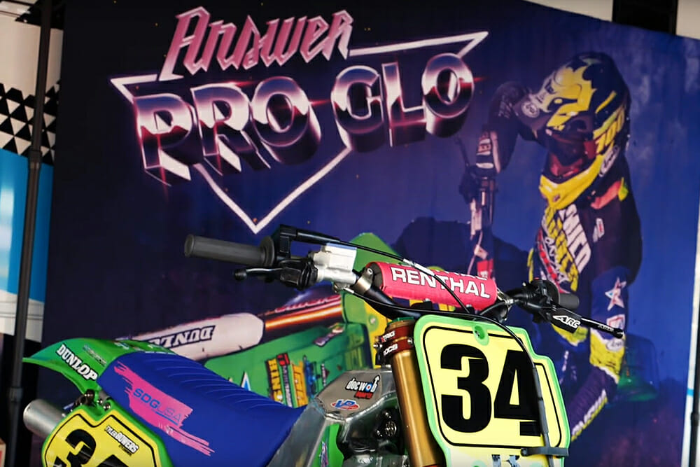 Answer Racing Pro Glo Launch Party
