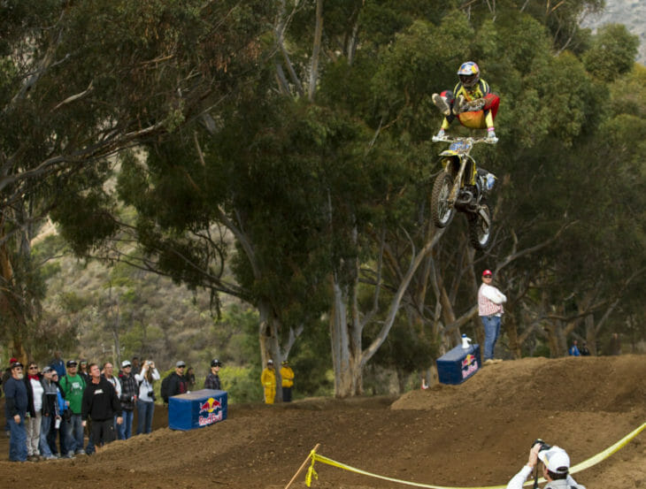 Travis Pastrana at the Catalina Island GP