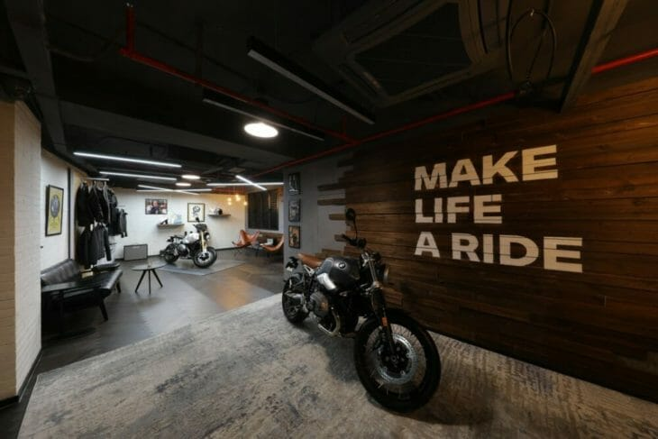 "BMW Motorrad partners with ""The House of Machines"" in Shanghai"