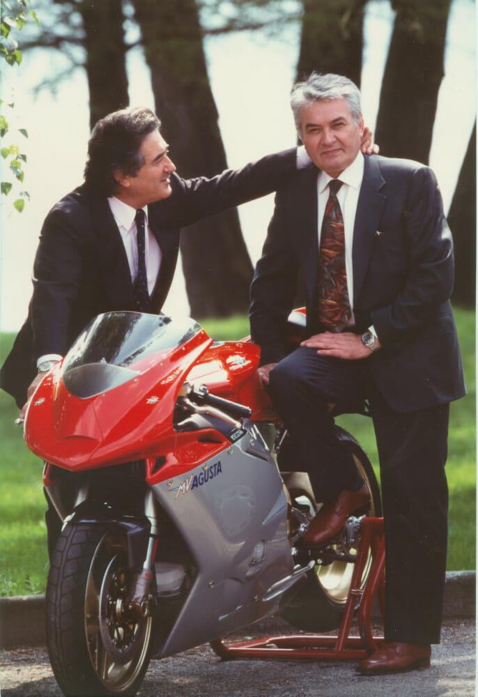 Claudio Castiglioni and Massimo Tamburini