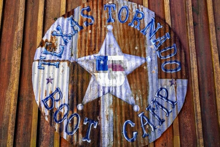 Texas Tornado Boot Camp Logo