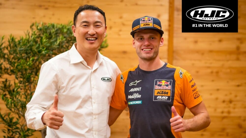 HJC Adds Brad Binder To 2020 MotoGP Lineup