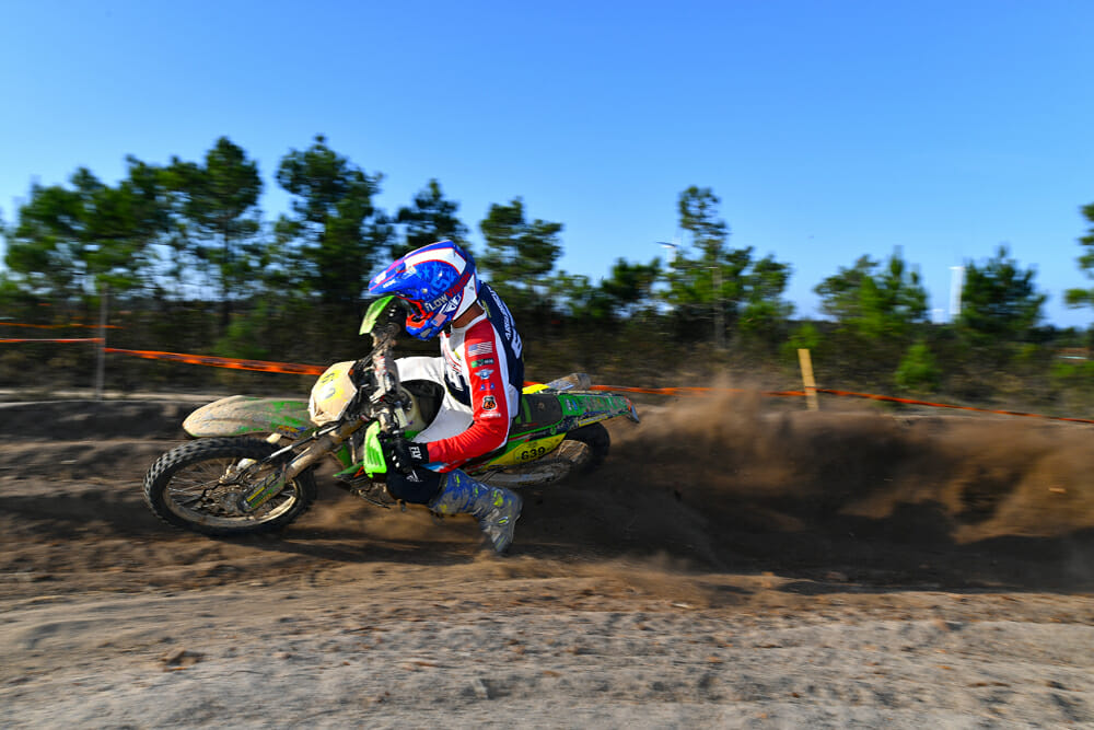 Jacob Argubright competed in his first ISDE in 2019.