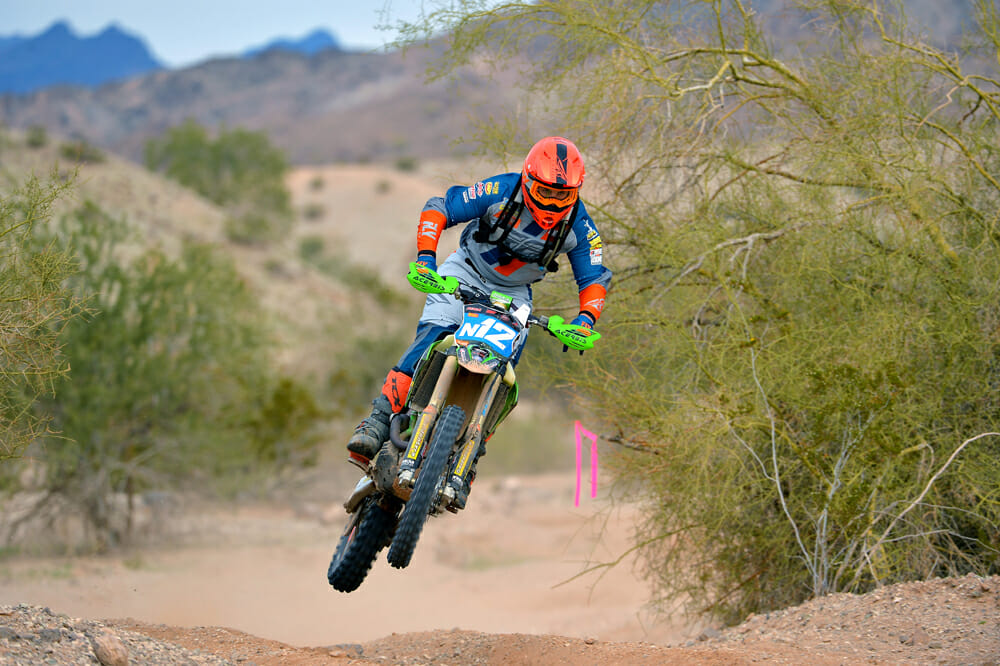 Jacob Argubright is a true privateer, organizing and operating his own race program.