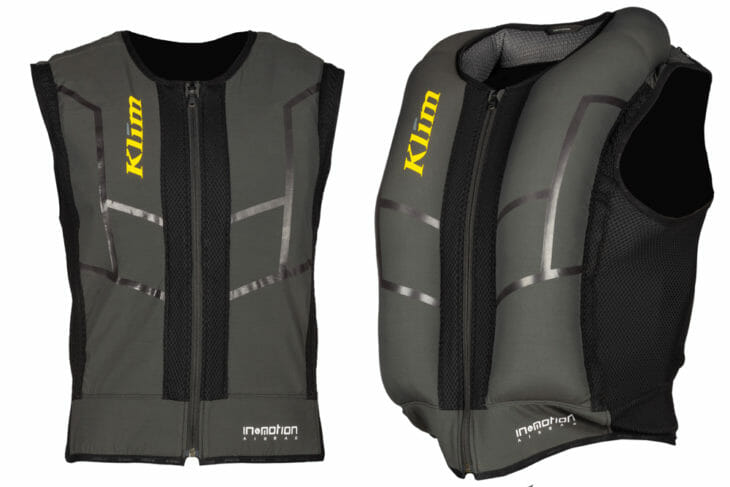 Autonomous Ai-1 Airbag Vest from KLIM and In&motion