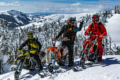 KLIM Frozen Cow Tag Snowbike Ride