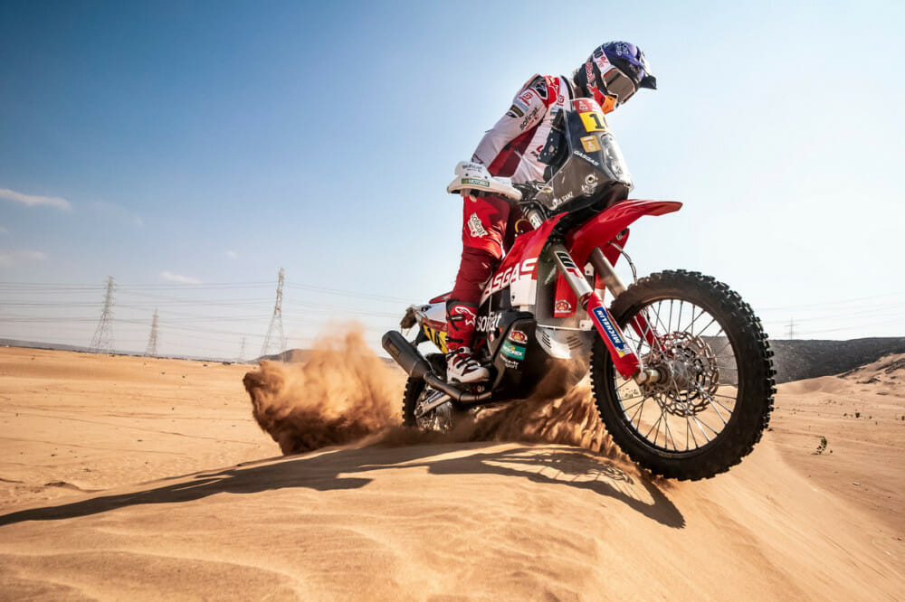 Laia Sanz will debut the new GasGas RC 450F at the 2020 Dakar Rally