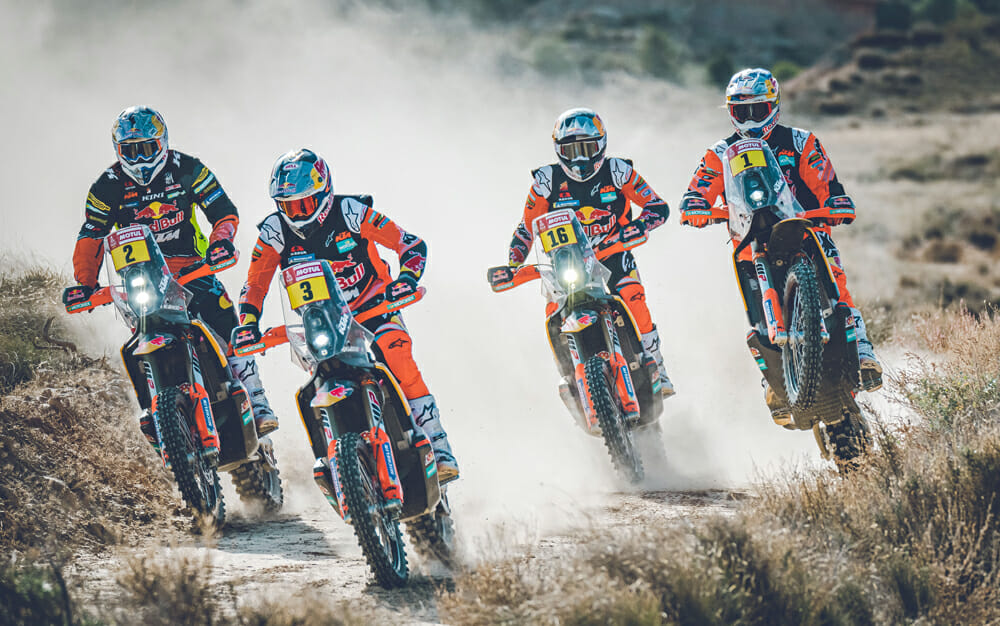 Red Bull KTM Factory Racing 2020 Dakar Rally Team