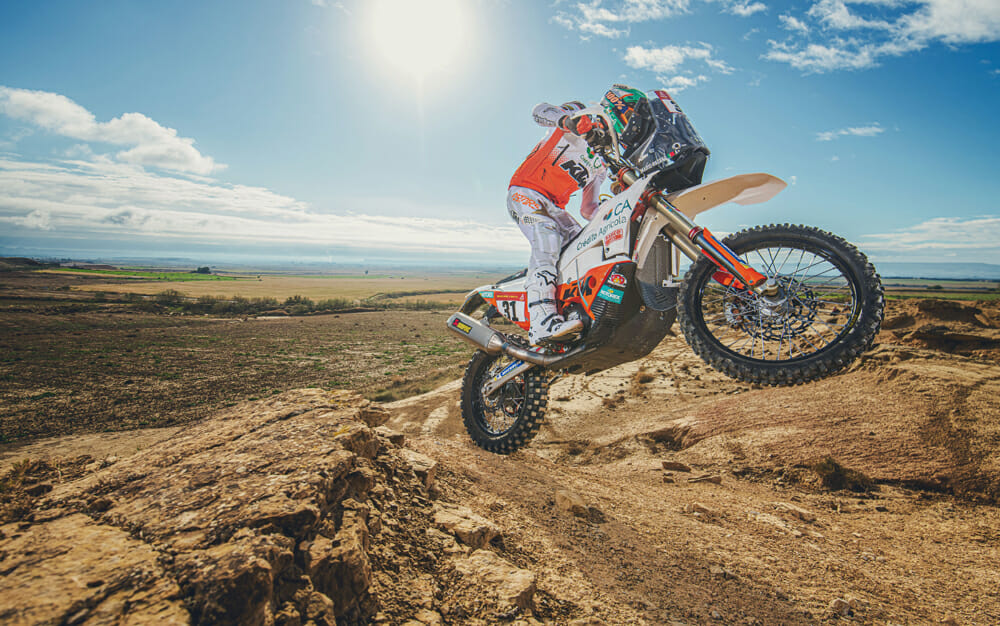 Red Bull KTM Factory Racing 2020 Dakar Rally rider Mario Patrao