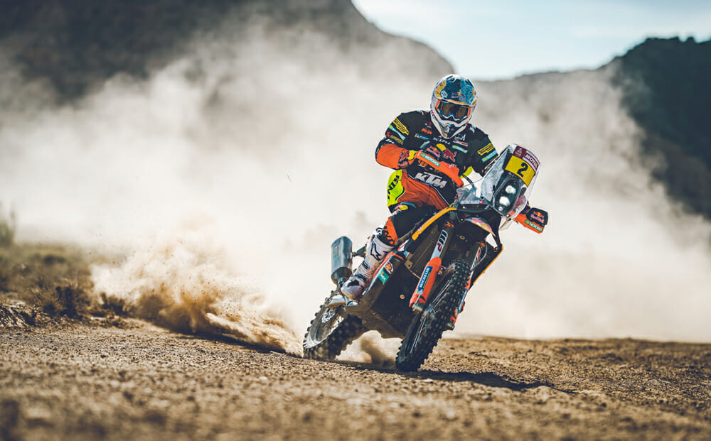 Red Bull KTM Factory Racing 2020 Dakar Rally rider Matthias Walkner