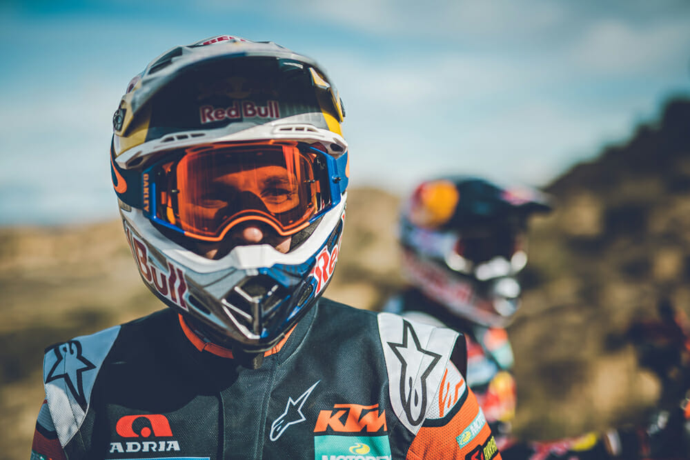 Red Bull KTM Factory Racing 2020 Dakar Rally rider Sam Sunderland