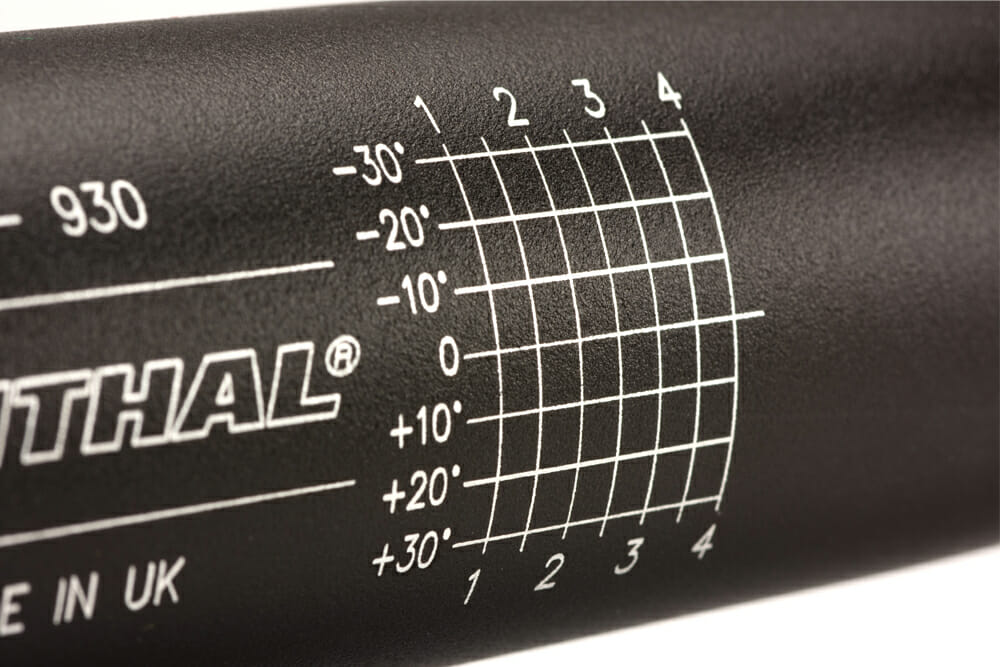 Renthal R-Works Fatbar36 MX Handlebar close up