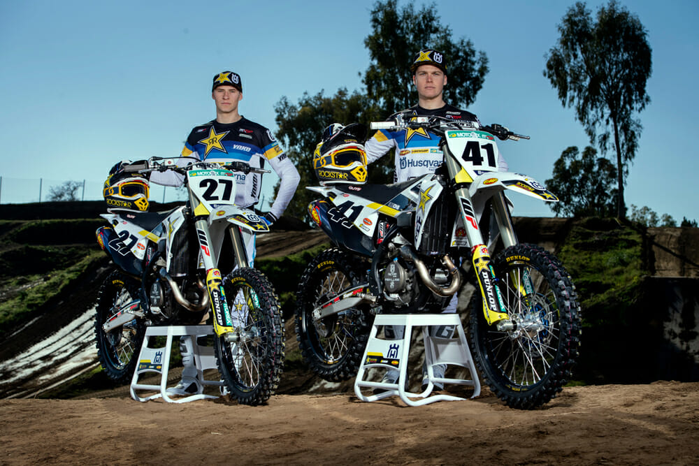 2020 Rockstar Energy Husqvarna Factory Racing MXGP Team Photos