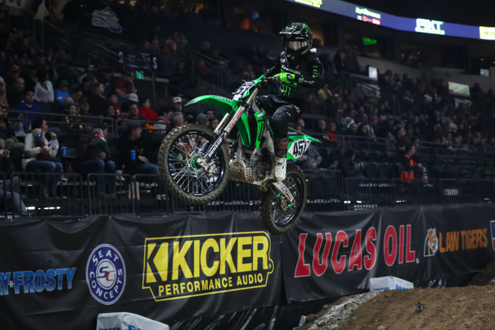 Round 1 of the AMA Kicker Arenacross Series presented by Lucas Oil. (Photo by: Jack Jaxson)