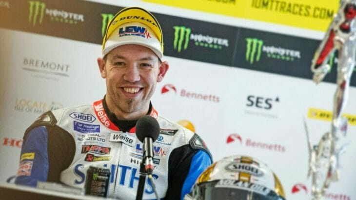 Peter Hickman to ride a Yamaha YZF-R6 for Supersport TT
