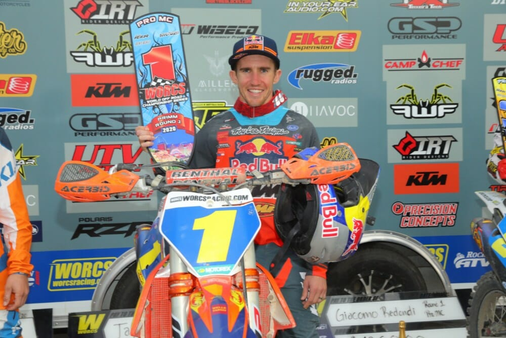 Round One WORCS Results | Taylor Robert Wins Opening Round of WORCS in Nevada